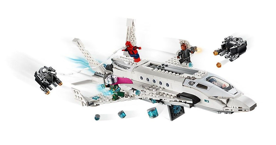 Конструктор Lego Marvel Super Heroes - Stark Jet and the Drone Attack (76130) - 3