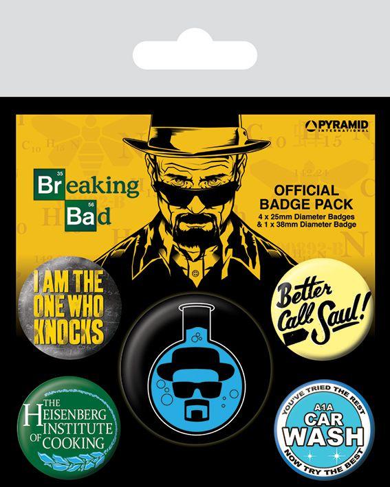 Комплект значки Pyramid -  Breaking Bad (Heisenberg Flask) - 1