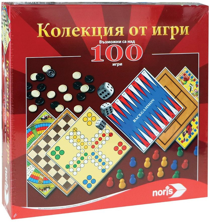 Комплект Noris - 100 игри - 1