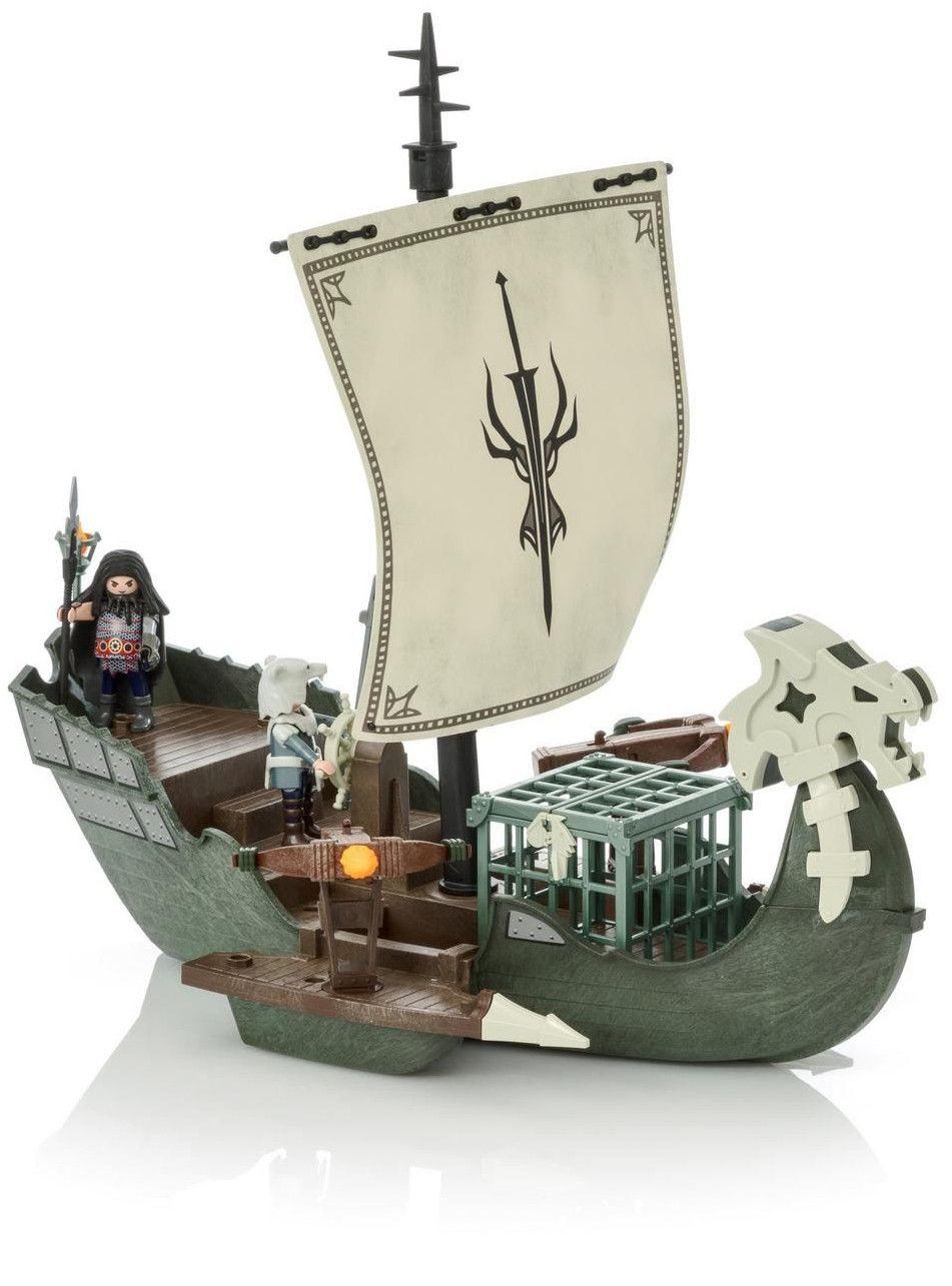 Конструктор Playmobil Dragons - Кораб, 45 части - 2