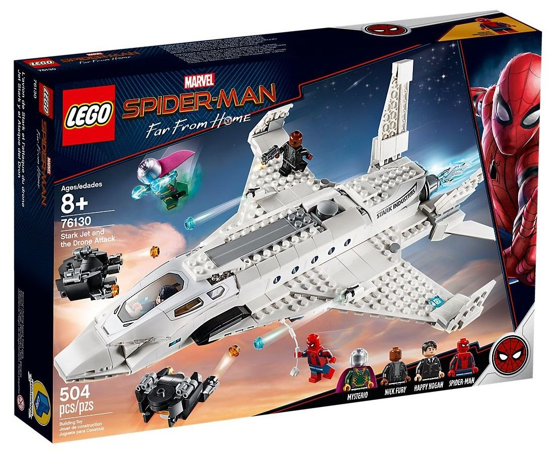 Конструктор Lego Marvel Super Heroes - Stark Jet and the Drone Attack (76130) - 1