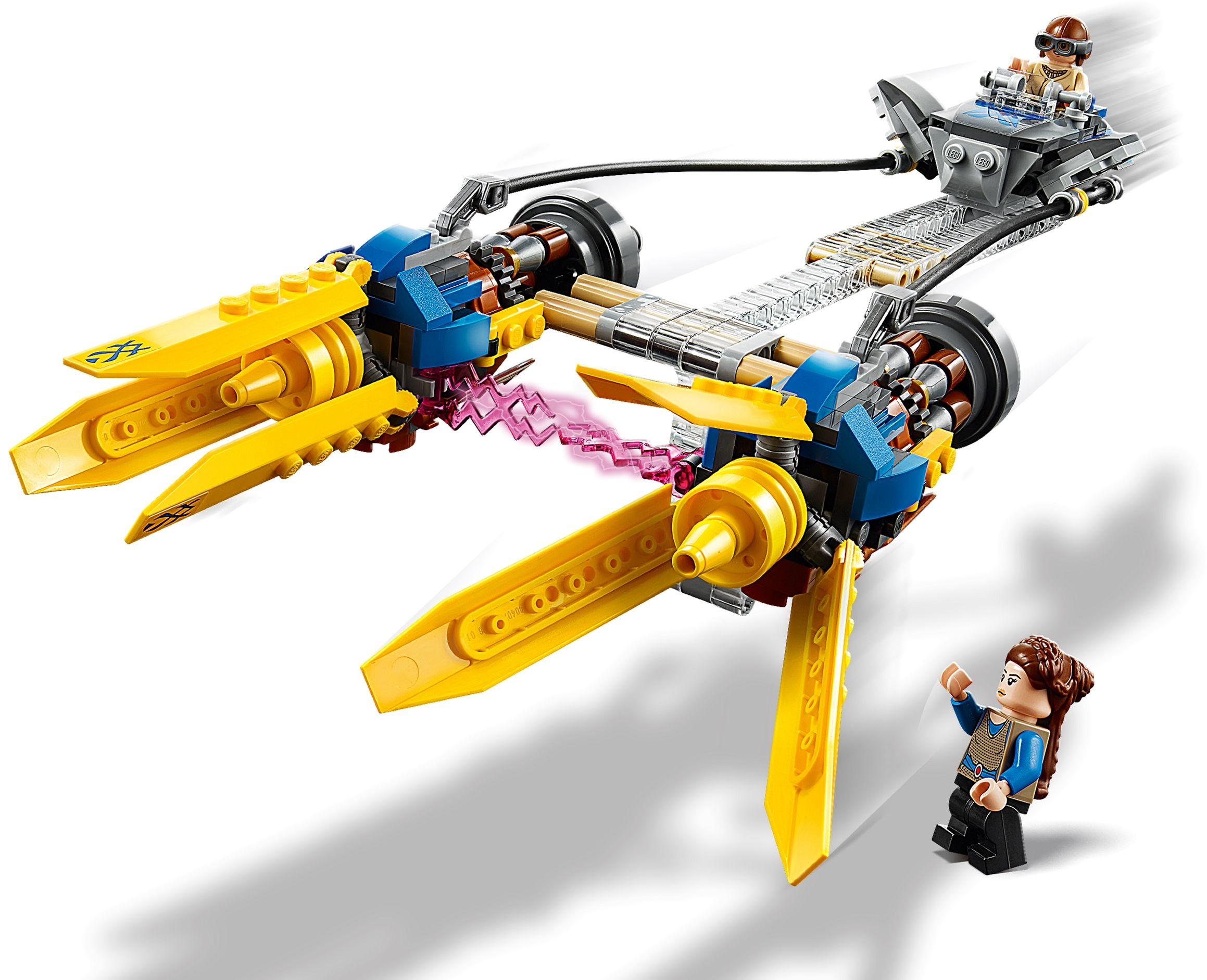 Конструктор Lego Star Wars -  Anakin's Podracer (75258) - 5