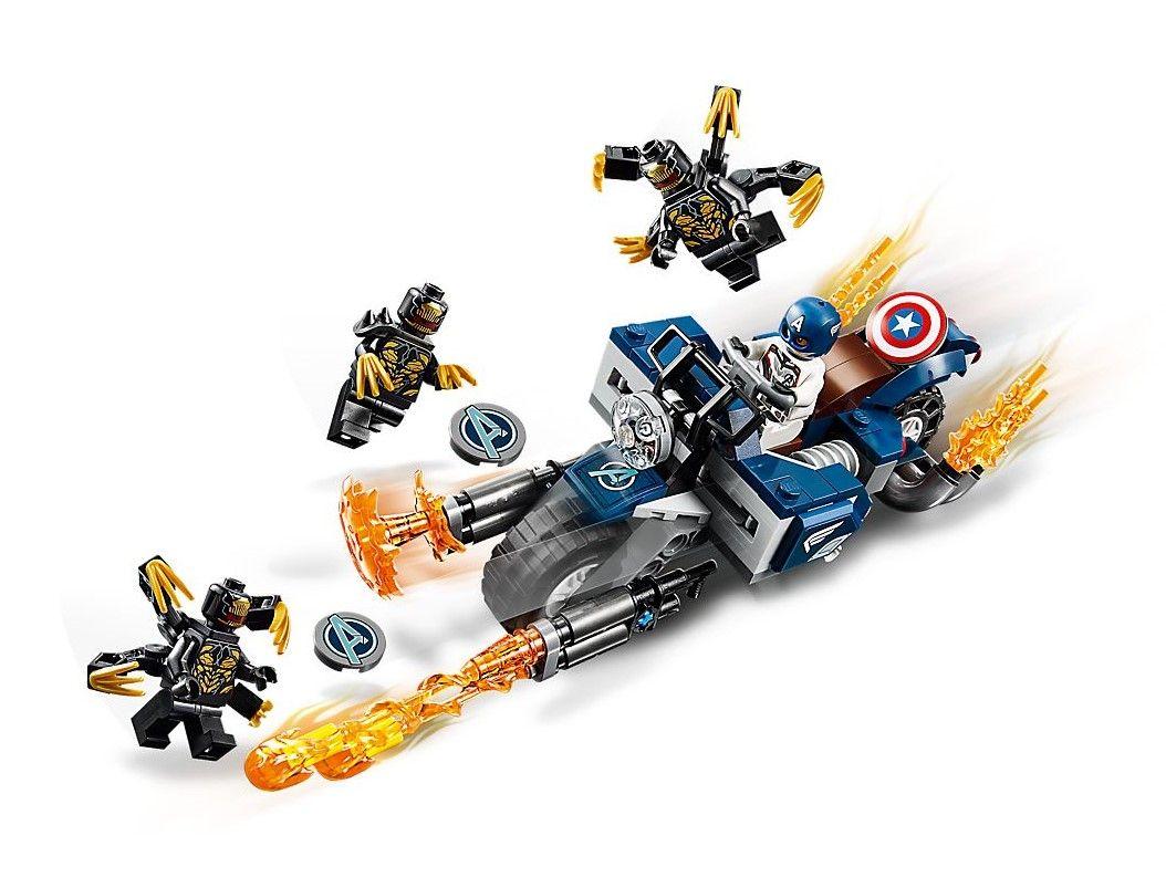 Конструктор Lego Marvel Super Heroes - Captain America: Outriders Attack (76123) - 3