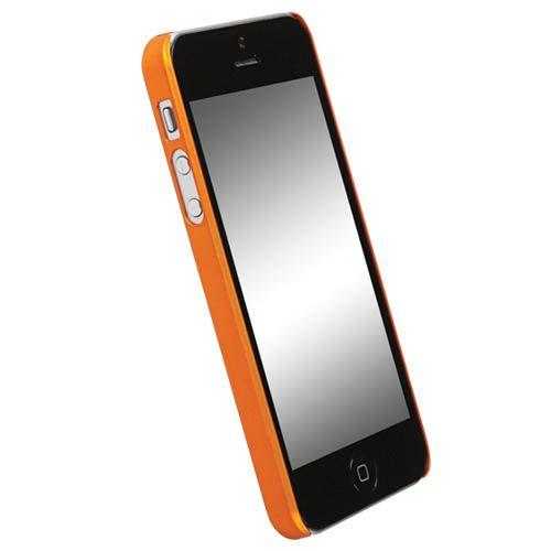 Krusell ColorCover за iPhone 5 -  оранжев - 2