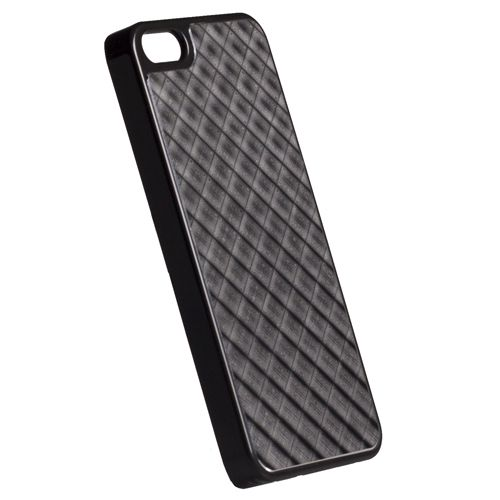 Krusell Bioserie AluCover Grid за iPhone 5 -  черен - 1