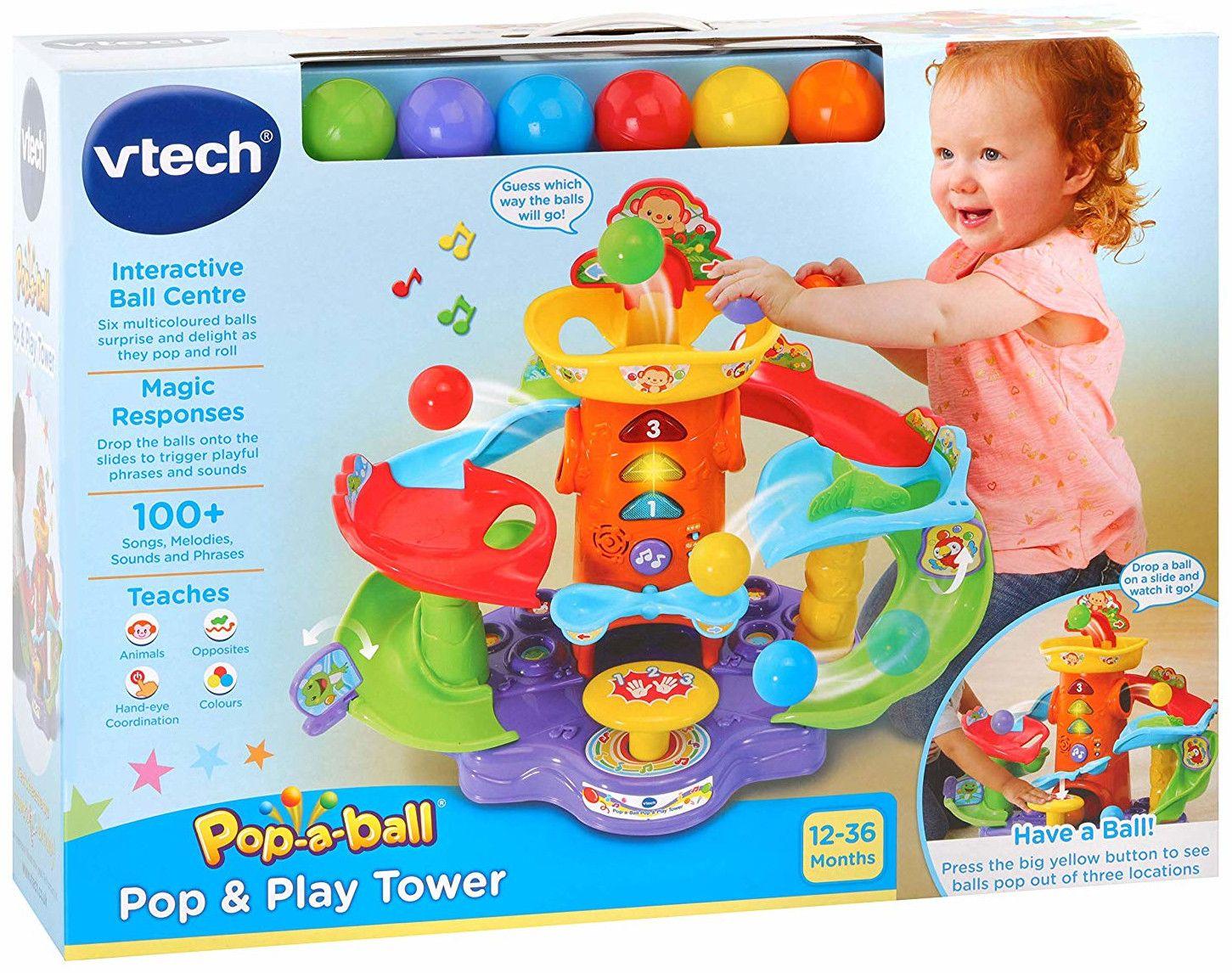 Детска играчка Vtech - Кула, с топки  - 5