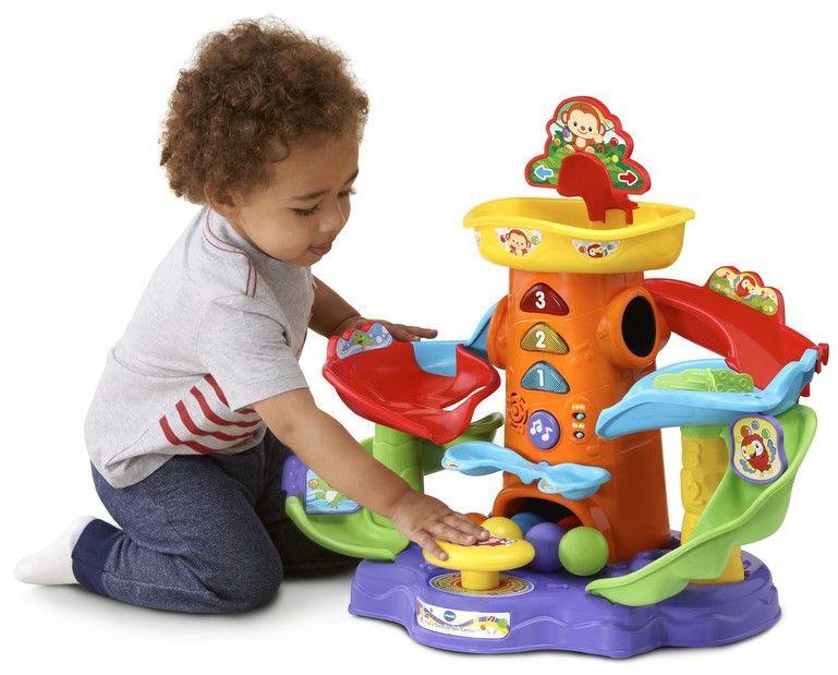 Детска играчка Vtech - Кула, с топки  - 4