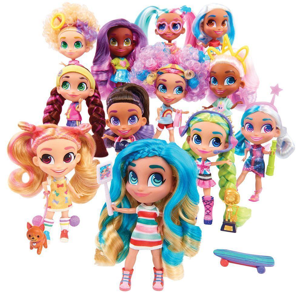 Кукла с изненади Just Play - Hairdorables, серия 1, асортимент - 4