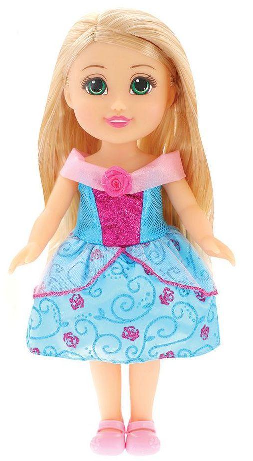 Кукла Funville Sparkle Girlz - Принцеса, 33 cm, със синя рокличка - 1