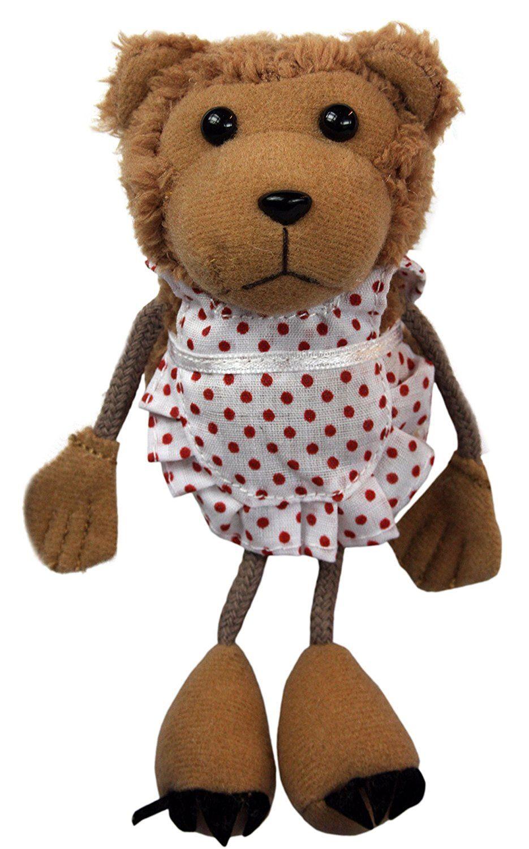 Кукла за куклен театър за пръст - Мама мечка, 15cm - 1