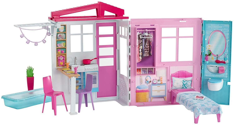 Игрален комплект Mattel Barbie - Къща за кукли - 1