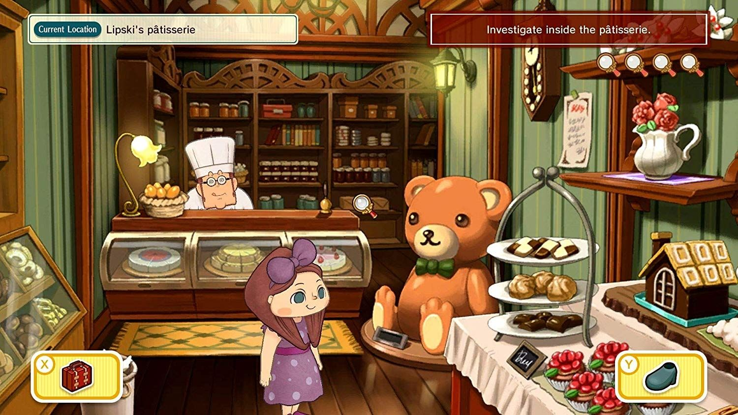 Layton's Mystery Journey: Katrielle and the Millionaires' Conspiracy (Nintendo Switch) - 5