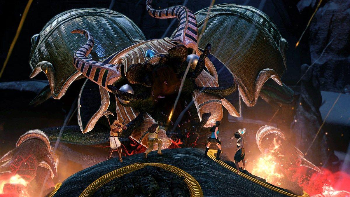 Lara Croft and The Temple of Osiris (PS4) - 4