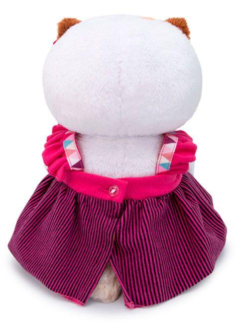 Плюшена играчка Budi Basa - Коте Ли-Ли бебе, в сукманче, 20 cm - 3