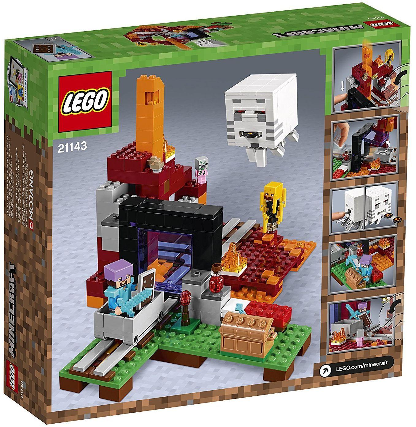 Конструктор Lego Minecraft - Портал към Ада (21143) - 9