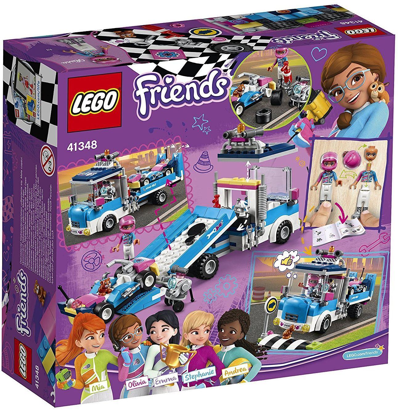 Конструктор Lego Friends - Камион за обслужване (41348) - 4