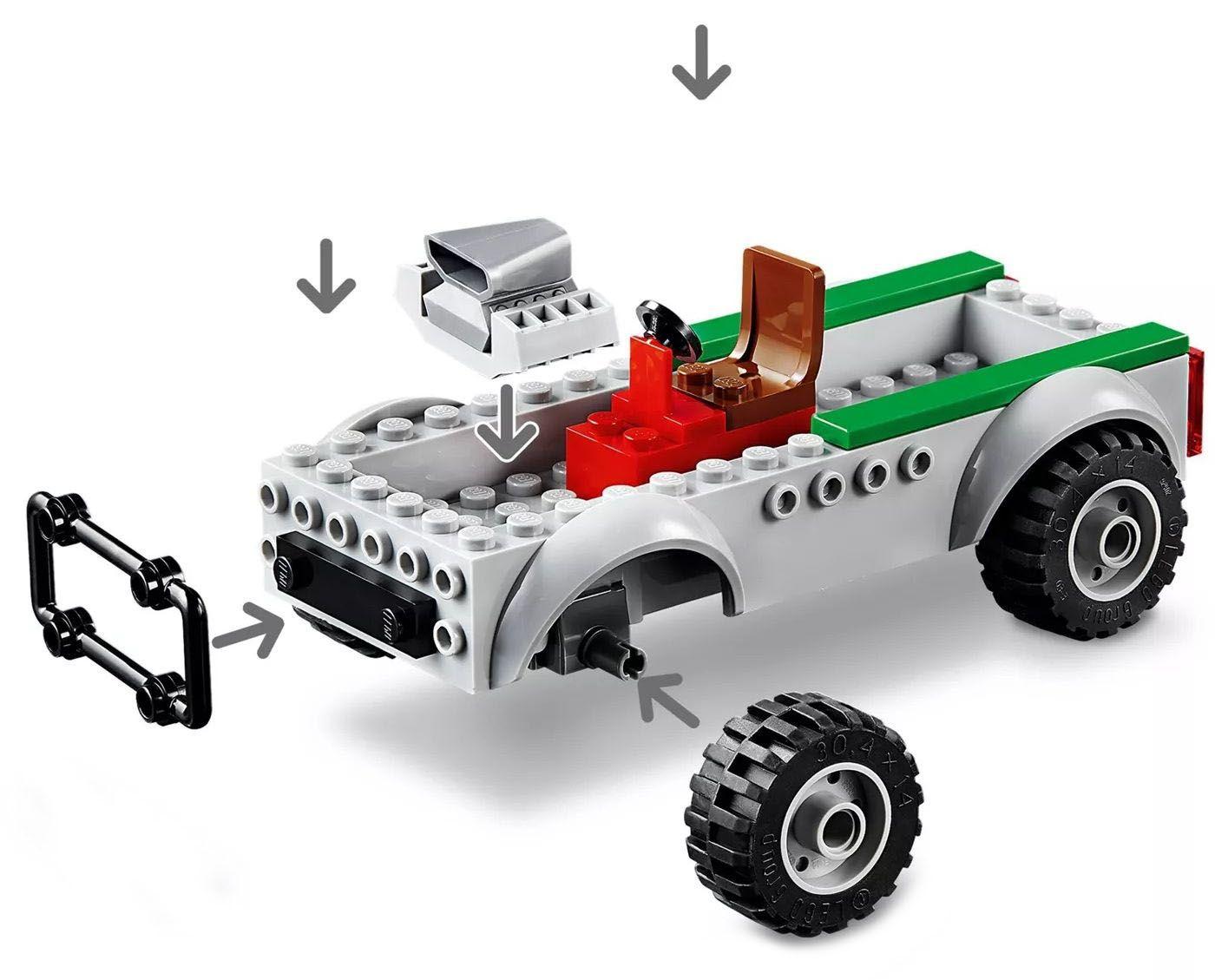 Конструктор Lego Marvel Super Heroes - Обир на камион с Vulture (76147) - 6