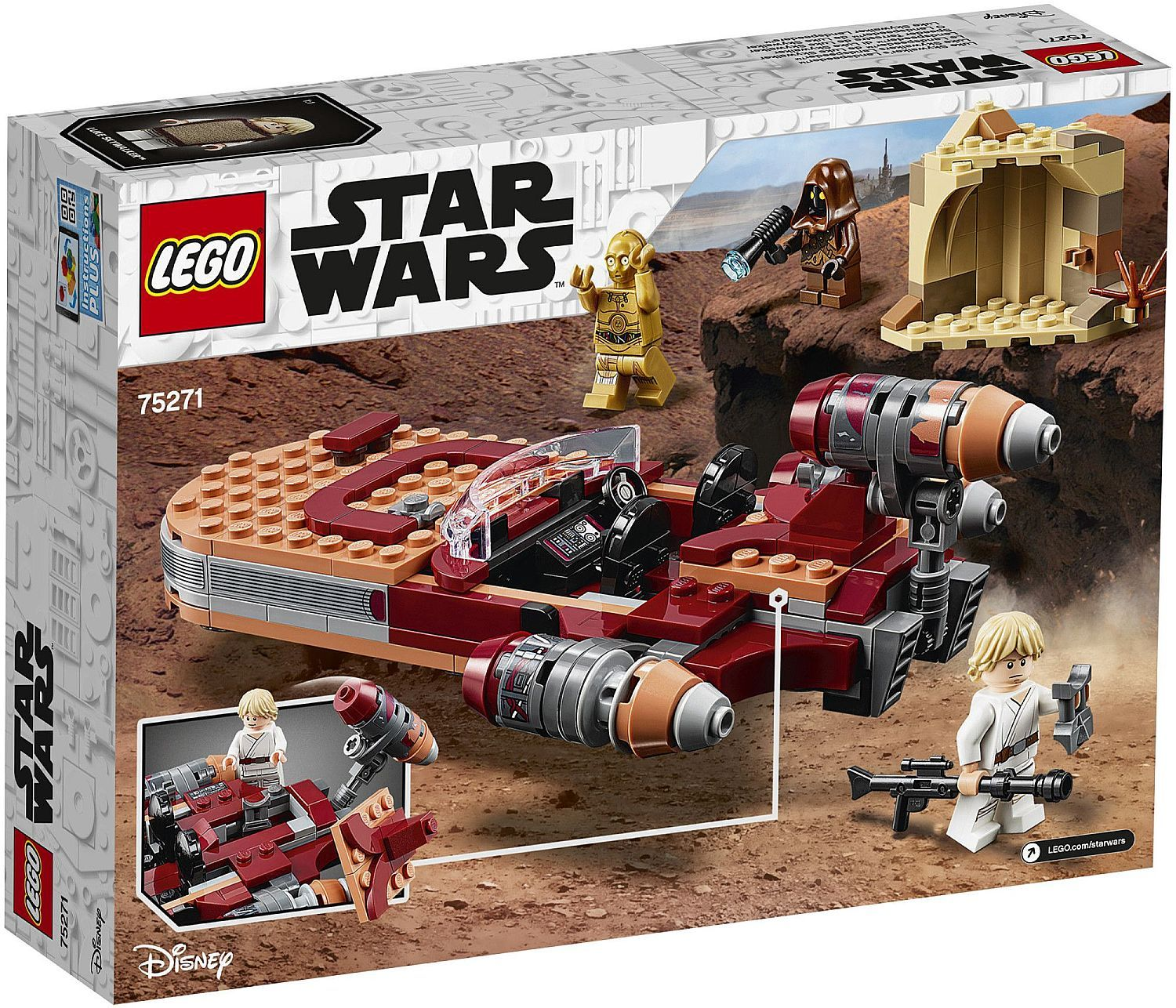 Конструктор Lego Star Wars - Luke Skywalker's Landspeeder (75271) - 2