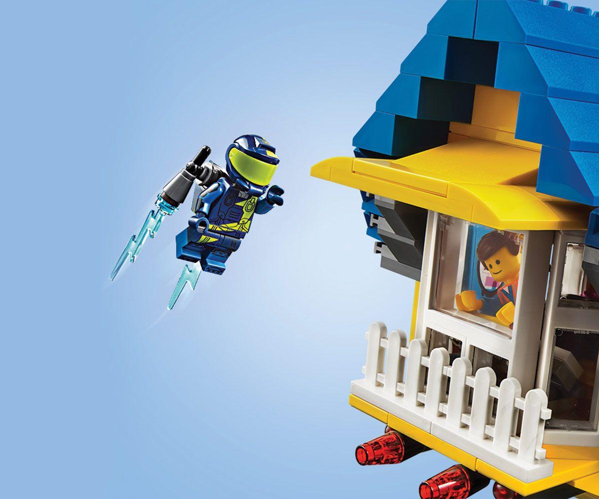 Конструктор Lego Movie 2 - Къща-мечта/ракета за бягство на Емет (70831) - 13