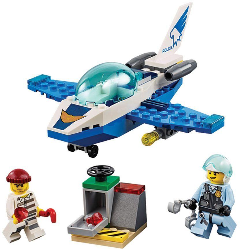 Конструктор Lego City - Полиция в небето, реактивен патрул (60206) - 5