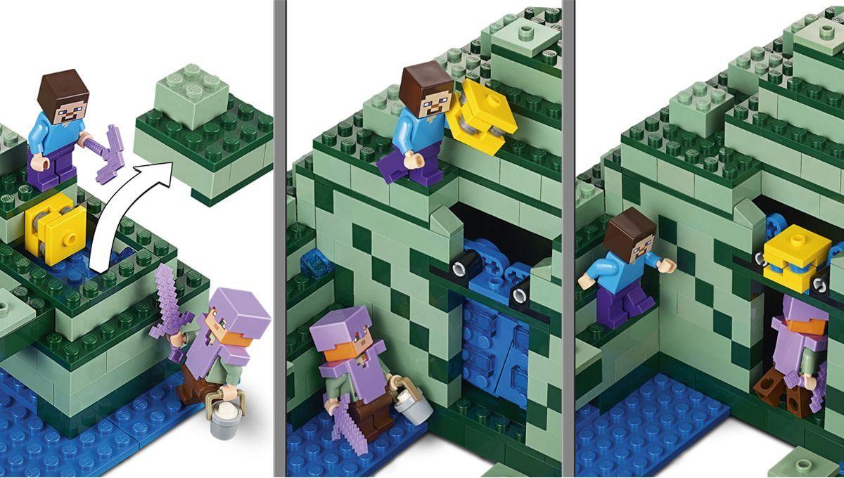 Конструктор Lego Minecraft - Океански монумент (21136) - 7