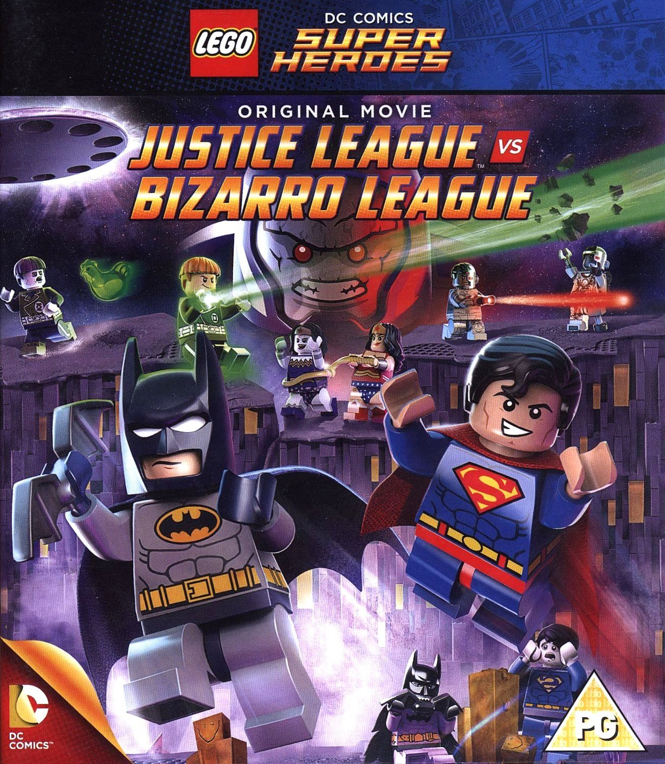 Lego: Justice League Vs Bizarro League (Blu-Ray) - 1