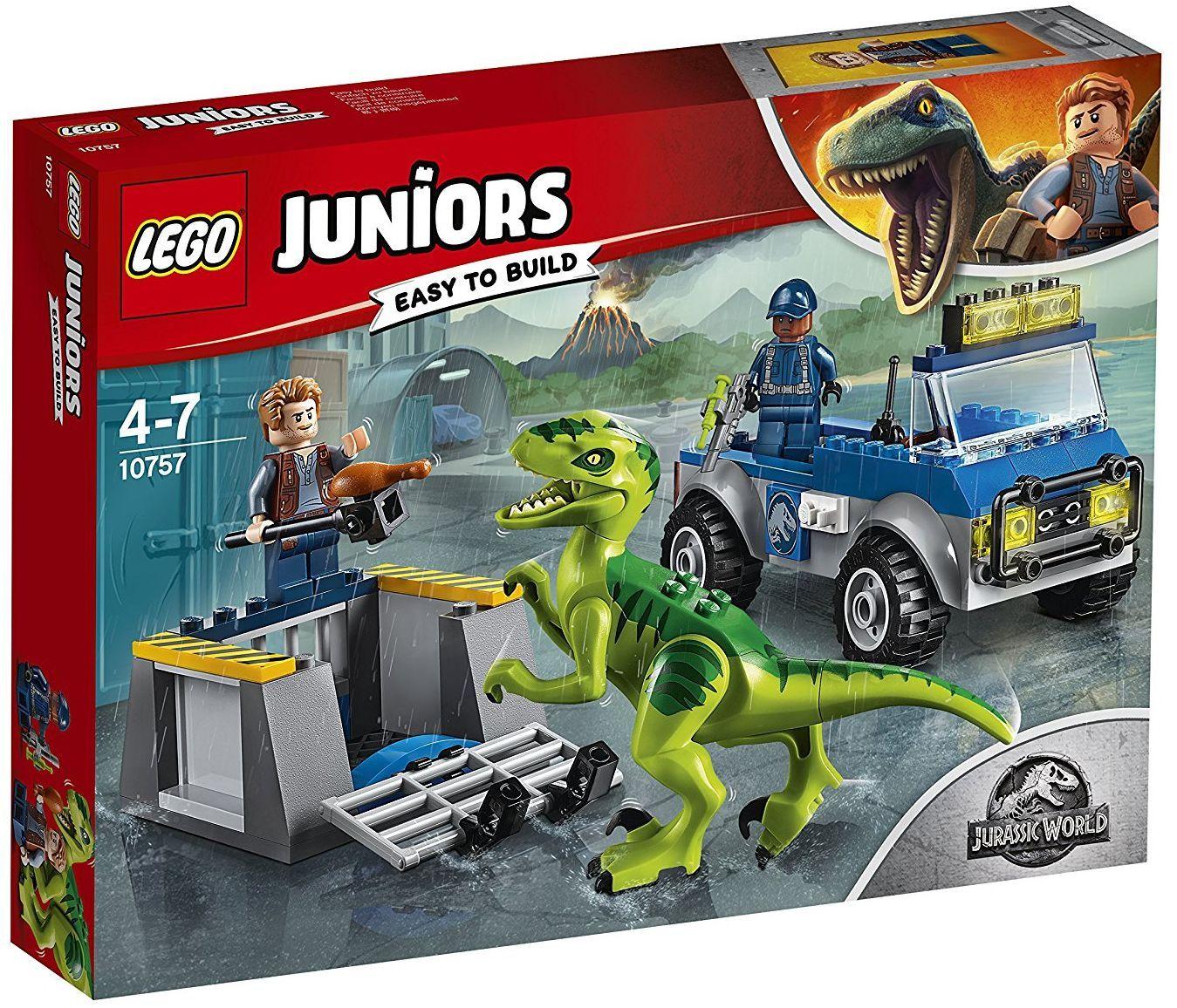 Конструктор Lego Juniors - Спасителен камион за Раптор - 1