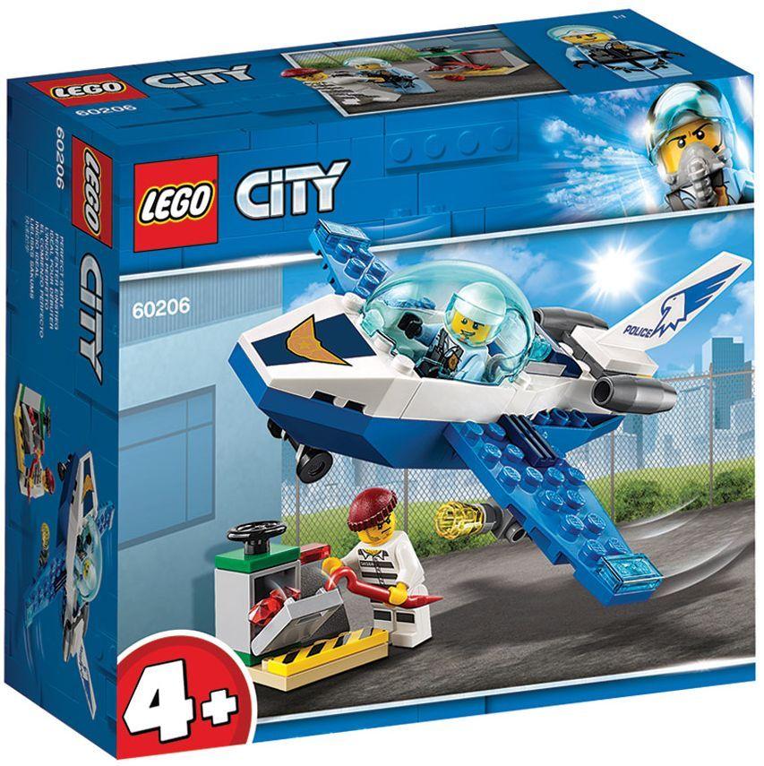 Конструктор Lego City - Полиция в небето, реактивен патрул (60206) - 3