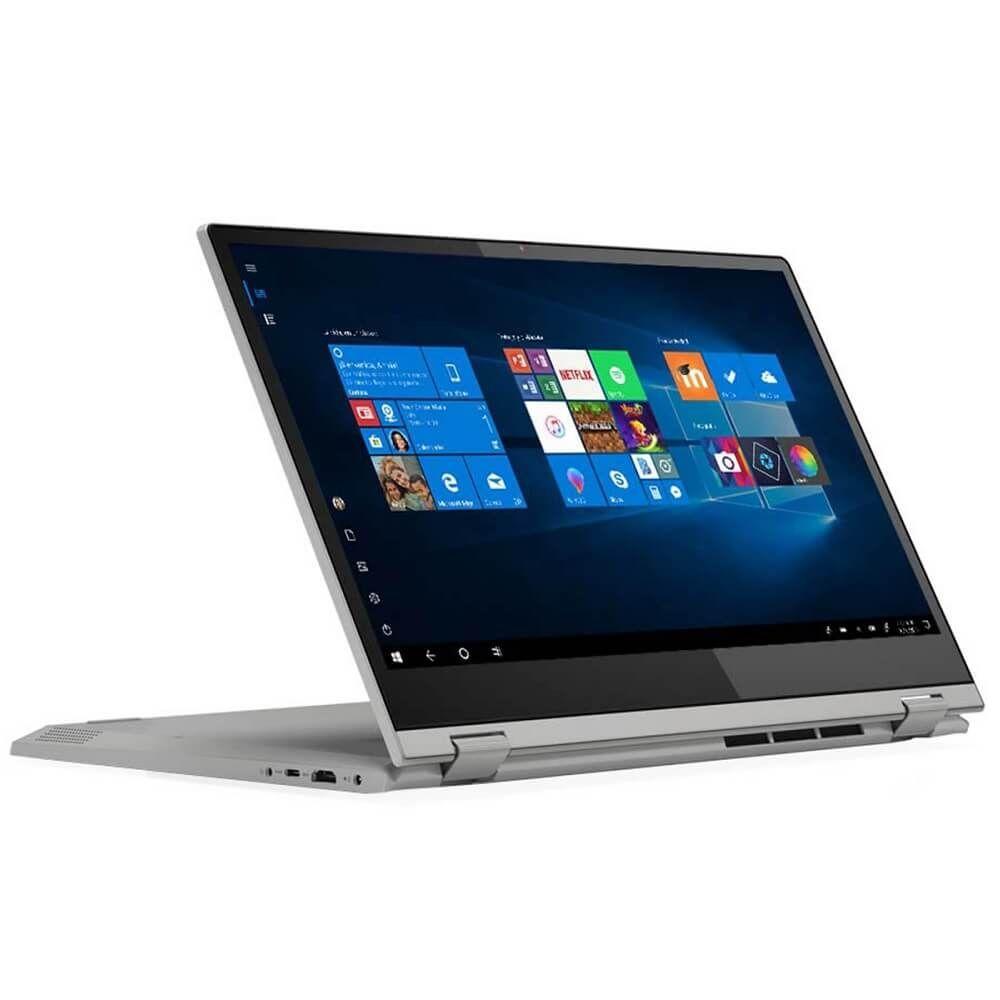 Лаптоп Lenovo IdeaPad - C340-15IML, сребрист - 3