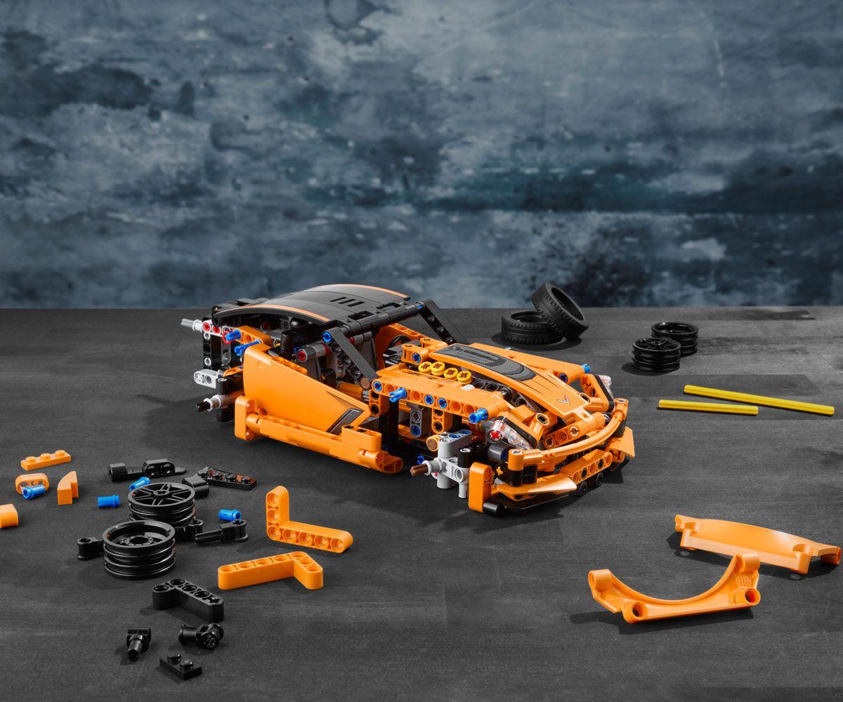 Конструктор Lego Technic - Chevrolet Corvette ZR1 (42093) - 14