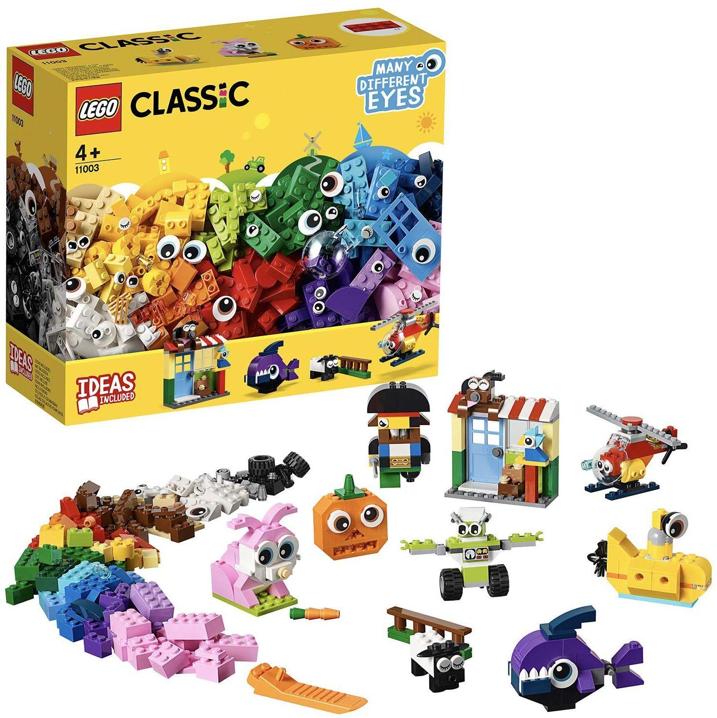 Конструктор Lego Classic - Тухлички и очи (11003) - 8
