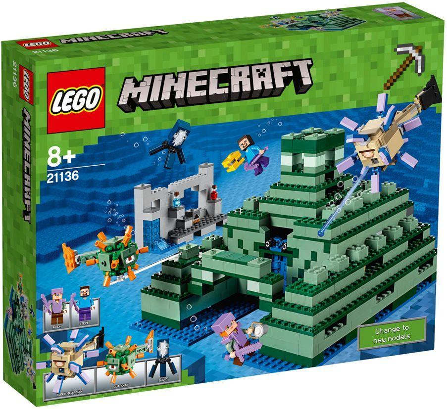 Конструктор Lego Minecraft - Океански монумент (21136) - 1