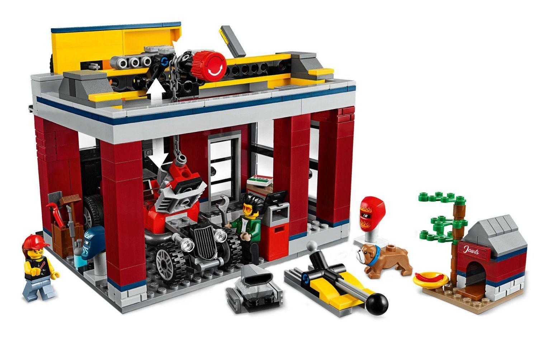 Конструктор Lego City Nitro Wheels - Сервиз за тунинг (60258) - 8