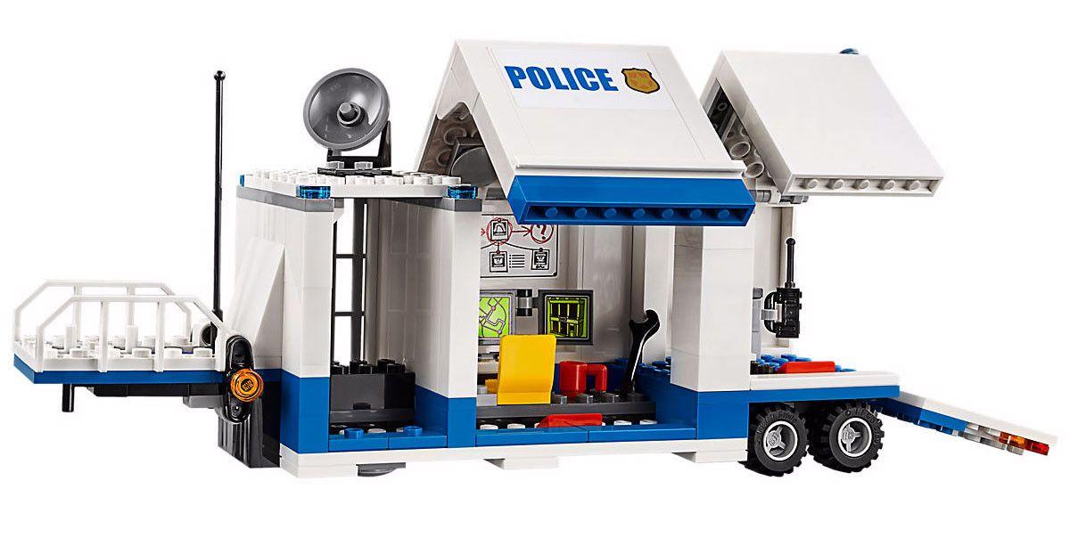 Конструктор Lego City - Мобилен команден център (60139) - 6