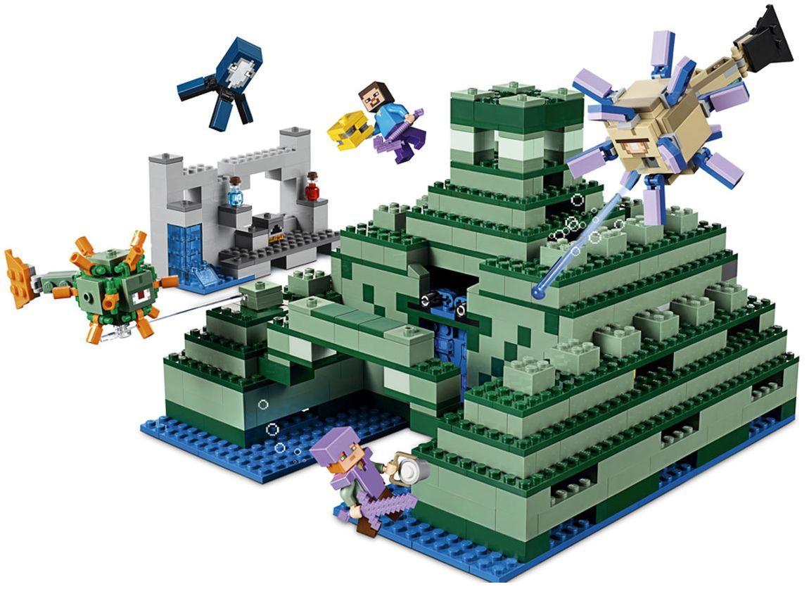 Конструктор Lego Minecraft - Океански монумент (21136) - 8