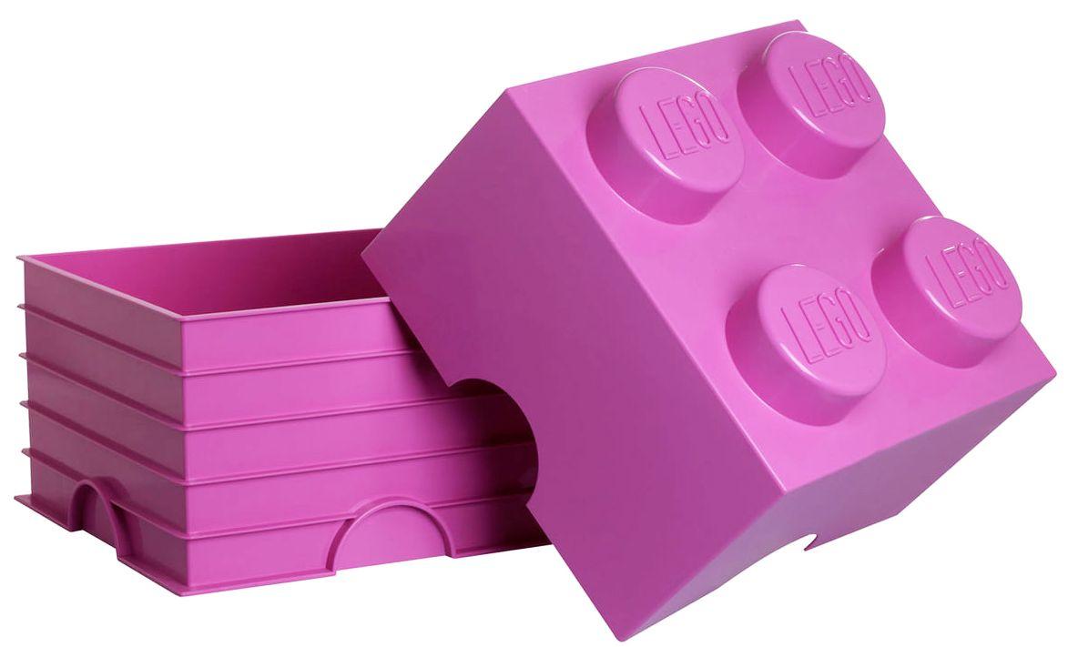 Кутия за съхранение Lego Friends - Розова - 3