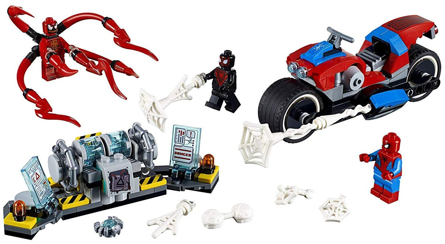 Конструктор Lego Marvel Super Heroes -Spider-Man Bike Rescue (76113) - 7