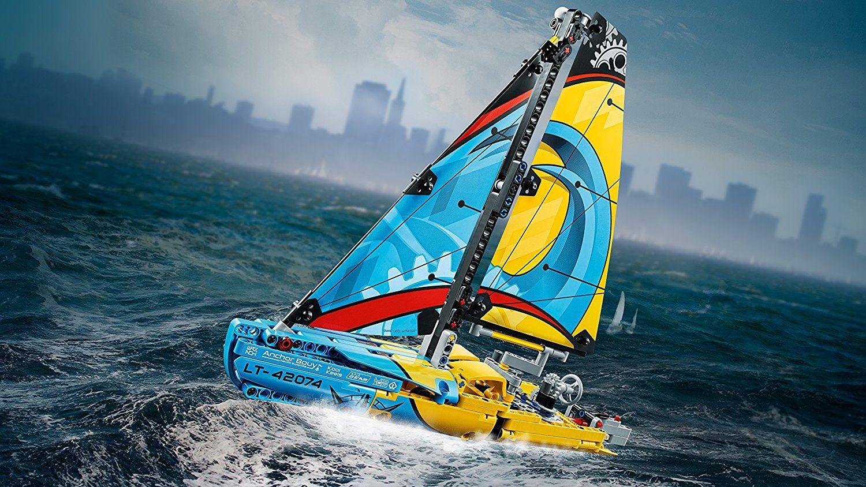Конструктор Lego Technic - Състезателна яхта (42074) - 4