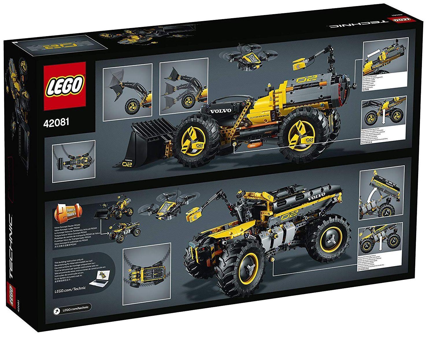 Конструктор Lego Technic - Volvo концепция, колесен товарач (42081) - 1