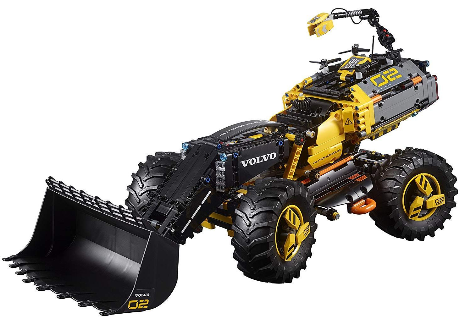 Конструктор Lego Technic - Volvo концепция, колесен товарач (42081) - 8