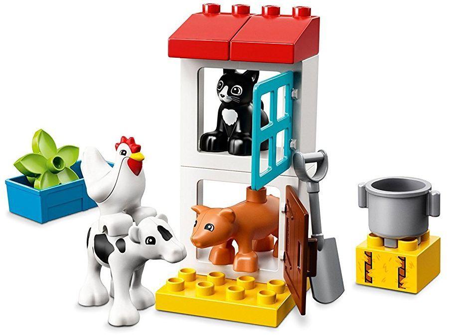 Конструктор Lego Duplo - Животни във ферма (10870) - 3