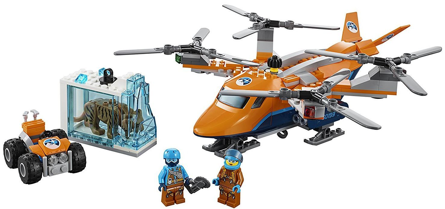 Конструктор Lego City - Арктически въздушен транспортьор (60193) - 3