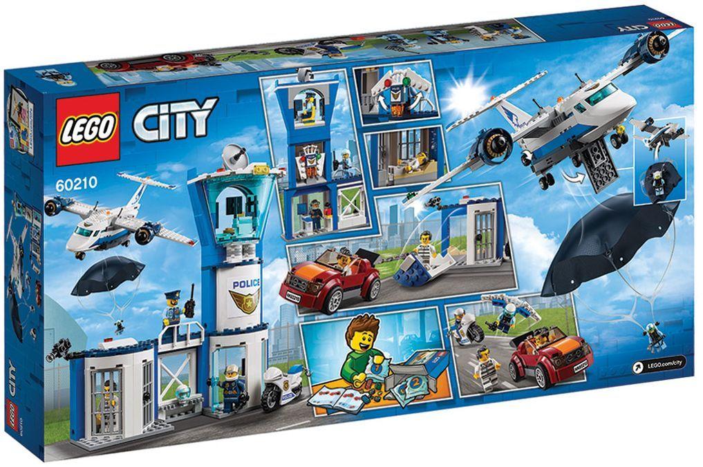 Конструктор Lego City - Полиция в небето, въздушна база (60210) - 9