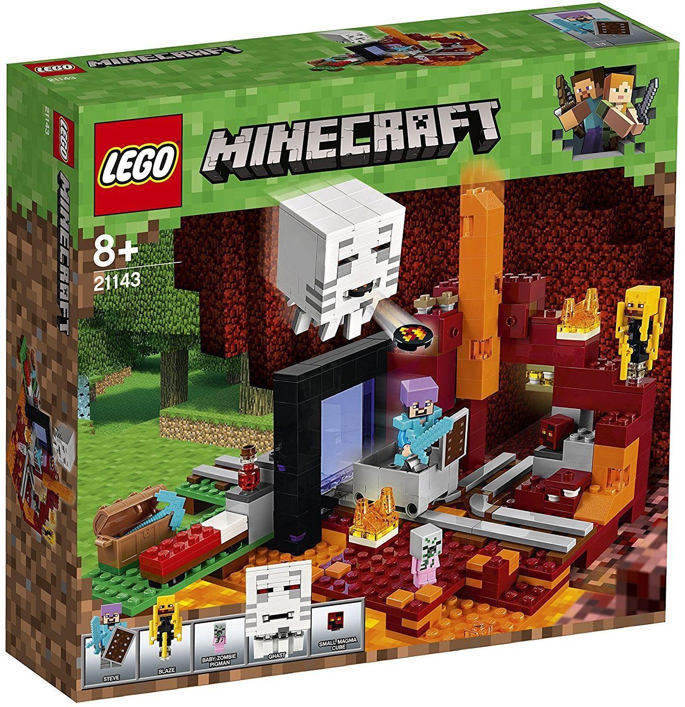 Конструктор Lego Minecraft - Портал към Ада (21143) - 1