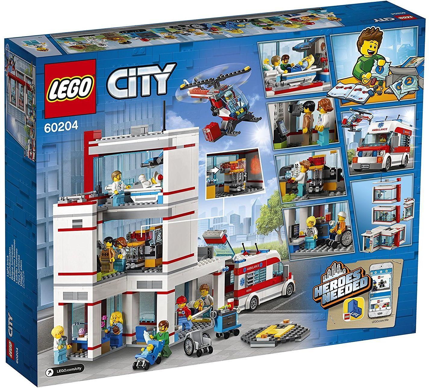 Конструктор Lego City - Болница (60204) - 6