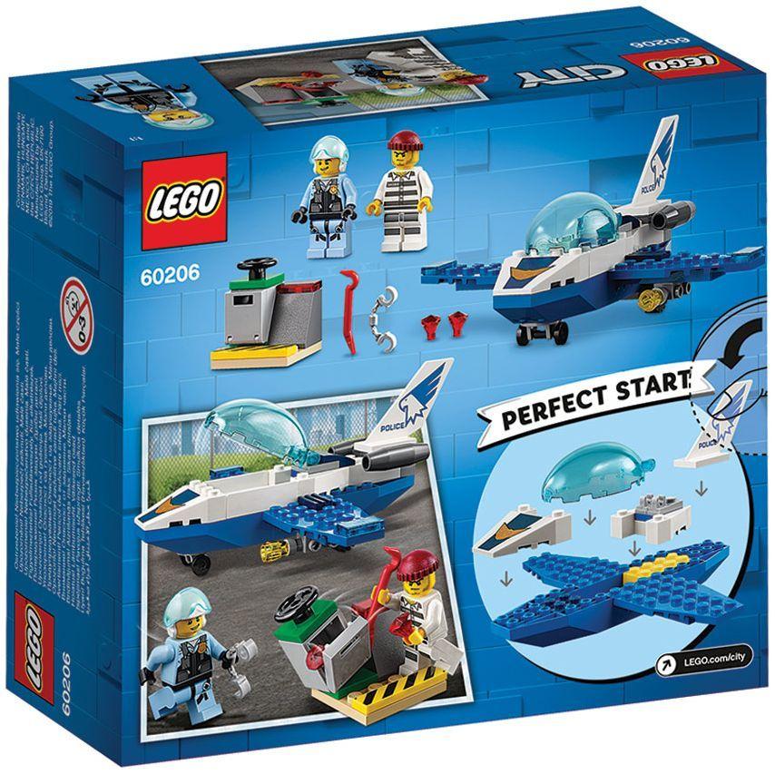 Конструктор Lego City - Полиция в небето, реактивен патрул (60206) - 4