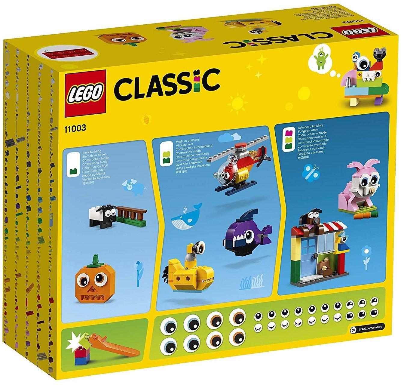 Конструктор Lego Classic - Тухлички и очи (11003) - 9