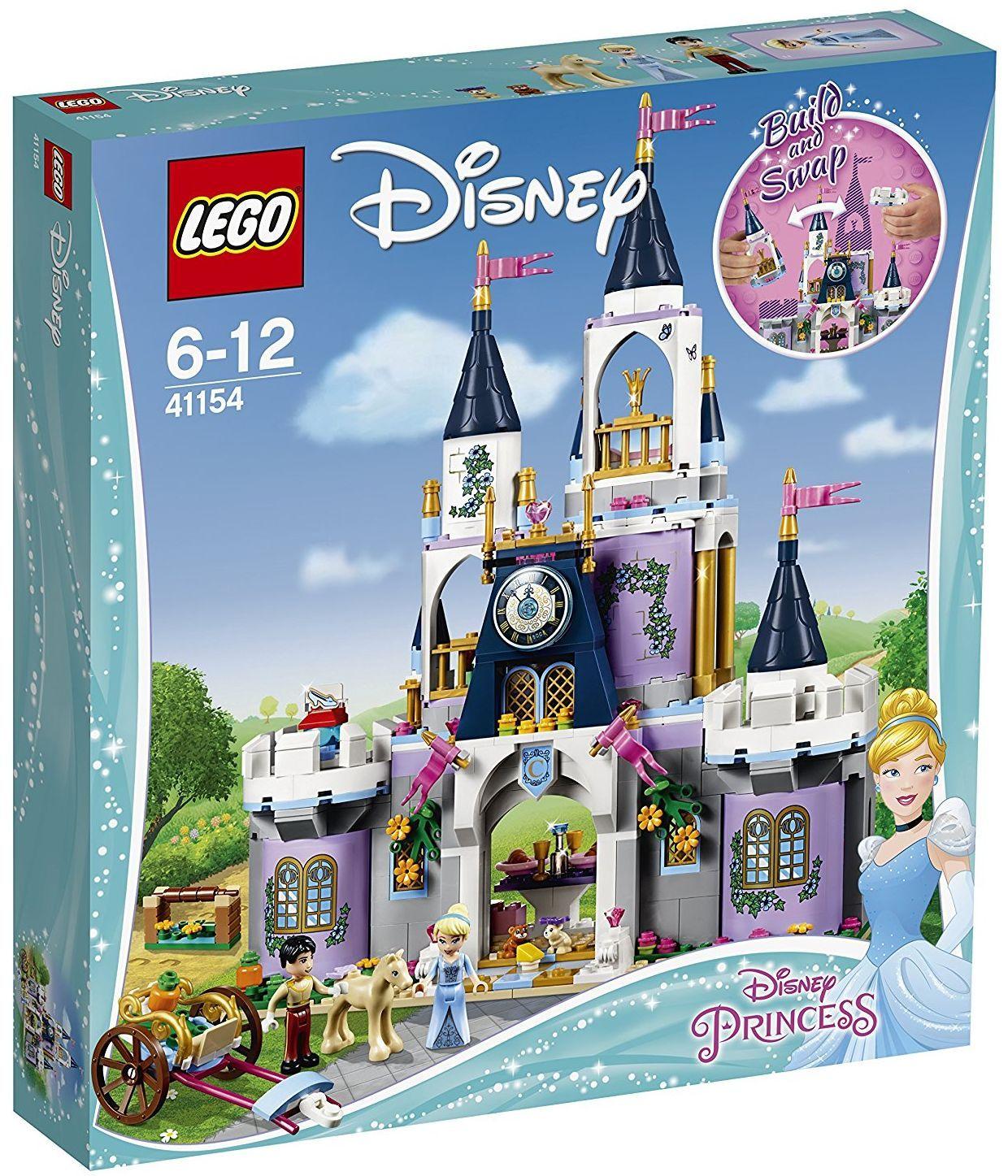 Конструктор Lego Disney Princess - Мечтаният замък на Пепеляшка (41154) - 1