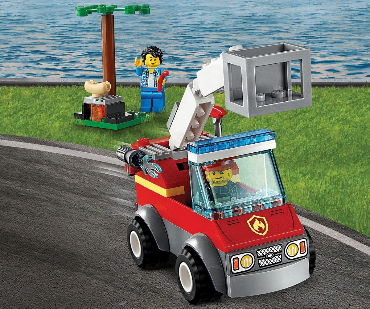Конструктор Lego City - Изгарящо барбекю (60212) - 6