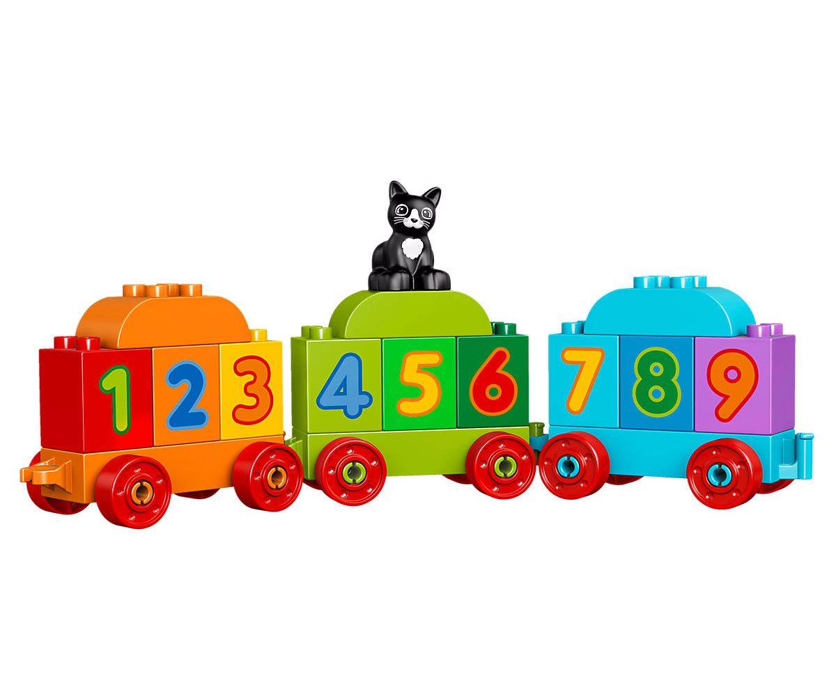 Конструктор Lego Duplo - Влакът на числата (10847) - 4